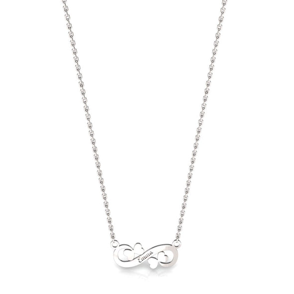 The Infinity Twin Butterfly necklace