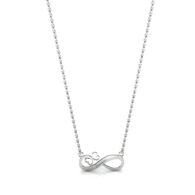 The Infinity Butterfly Necklace