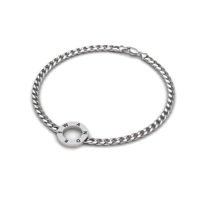 Paul Engravable Round Bracelet