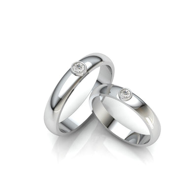 The Perfect Pair couple's ring