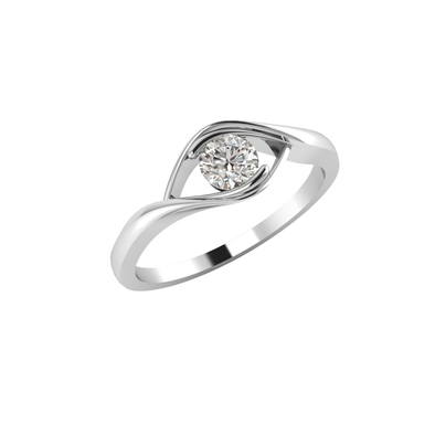 Prime Solitaire Ring