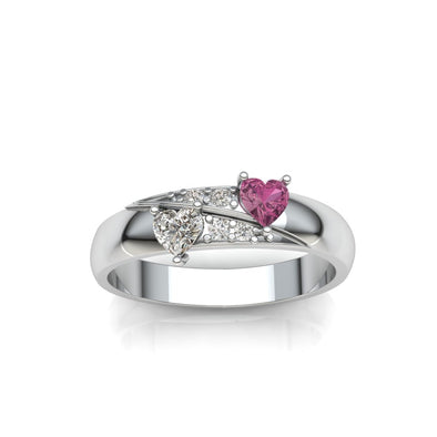 The  'Couple' of Heart Ring