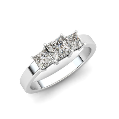 The Anastasia Princess Ring Silver