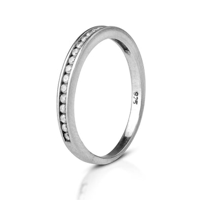 Arianna Half Eternity Ring
