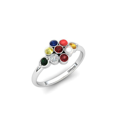 The Calla Prana Ring Silver
