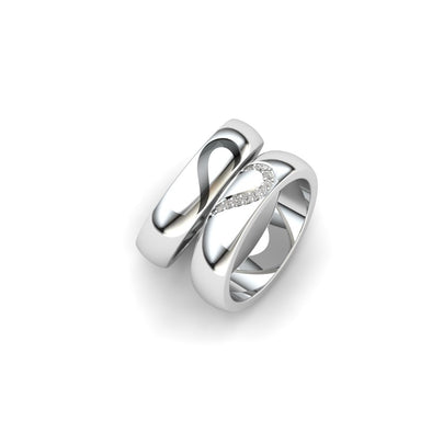 Janis Heart Couple Ring
