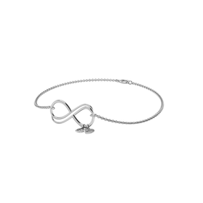 Saige Infinity with Little Hearts Bracelet