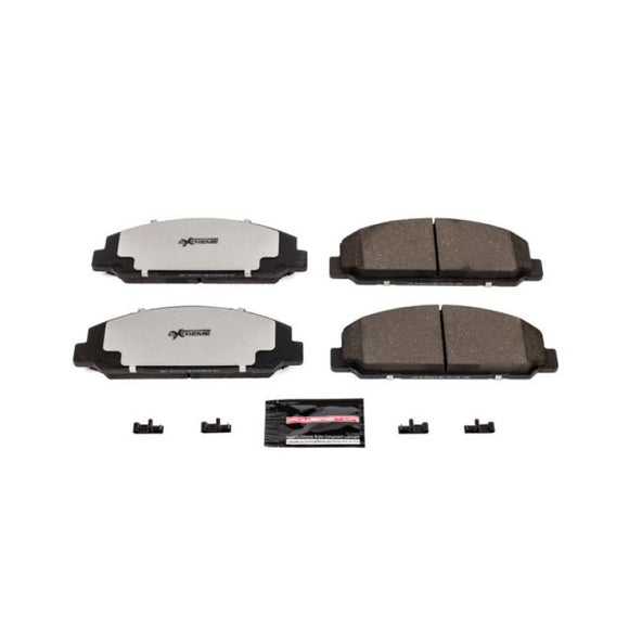 Power Stop 16-17 Chevrolet LCF 4500 Front or Rear Z36 Truck & Tow Brake Pads w/Hardware