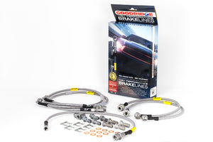 Goodridge 01-03 Chevrolet Silverado / 01-03 GMC Sierra SS Brake Lines