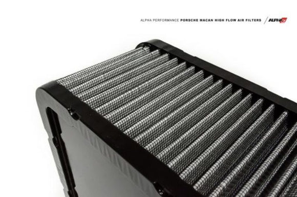 AMS Performance Porsche Macan 4 Cyl Alpha Drop In Air Filters (1 Filter)