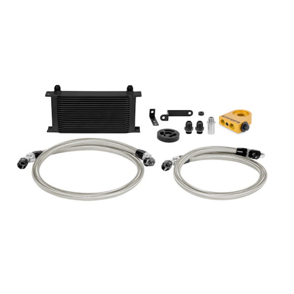 Mishimoto 08-14 Subaru WRX Thermostatic Oil Cooler Kit - Black