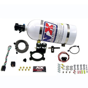 Nitrous Express 2014+ GM 5.3L Truck Nitrous Plate Kit (50-250HP) w/10lb Bottle