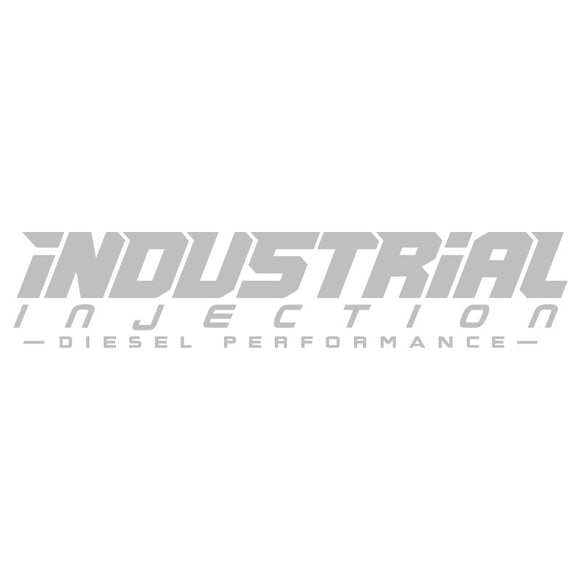 Industrial Injection 40in Logo Decal - Silver