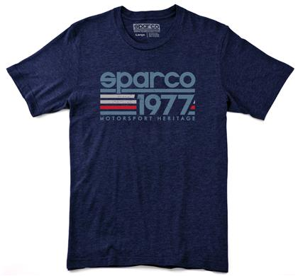 Sparco T-Shirt Vintage 77 Nvy Sml