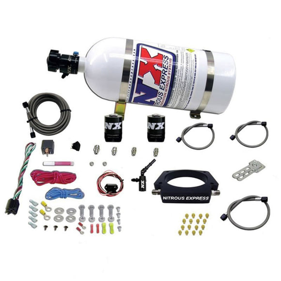 Nitrous Express 2014+ Chevrolet Corvette C7 Nitrous Plate Kit (50-300HP) w/10lb Bottle
