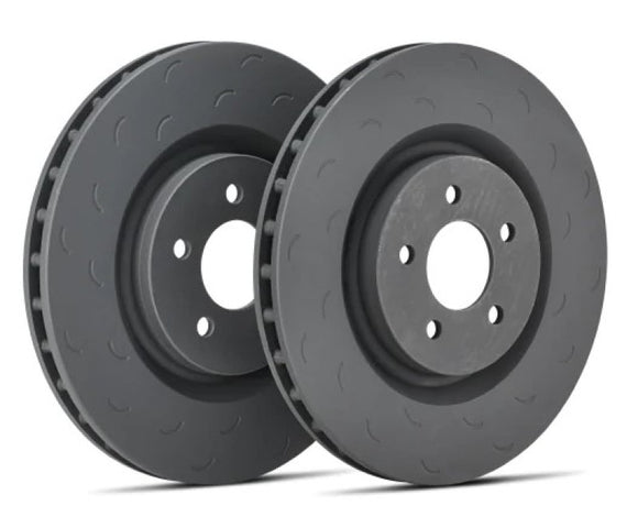 Hawk Talon 94-05 Mazda Miata / 92-96 MX-3 / 90-98 Protege Slotted-Only Solid 9.88 in Rear Rotor Set