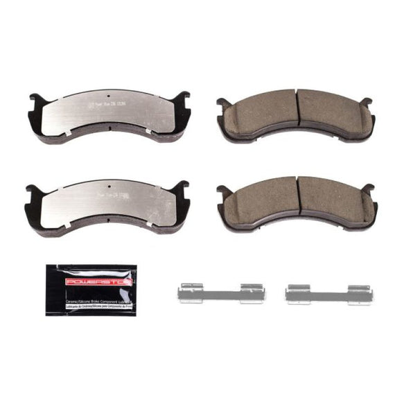 Power Stop 11-16 Ford F59 Front or Rear Z36 Truck & Tow Brake Pads w/Hardware
