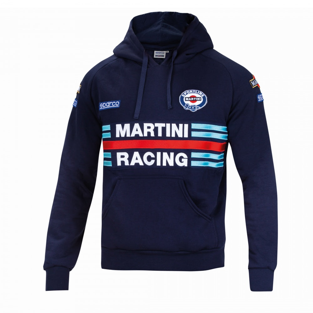 Sparco Hoodie Martini-Racing XXL Navy