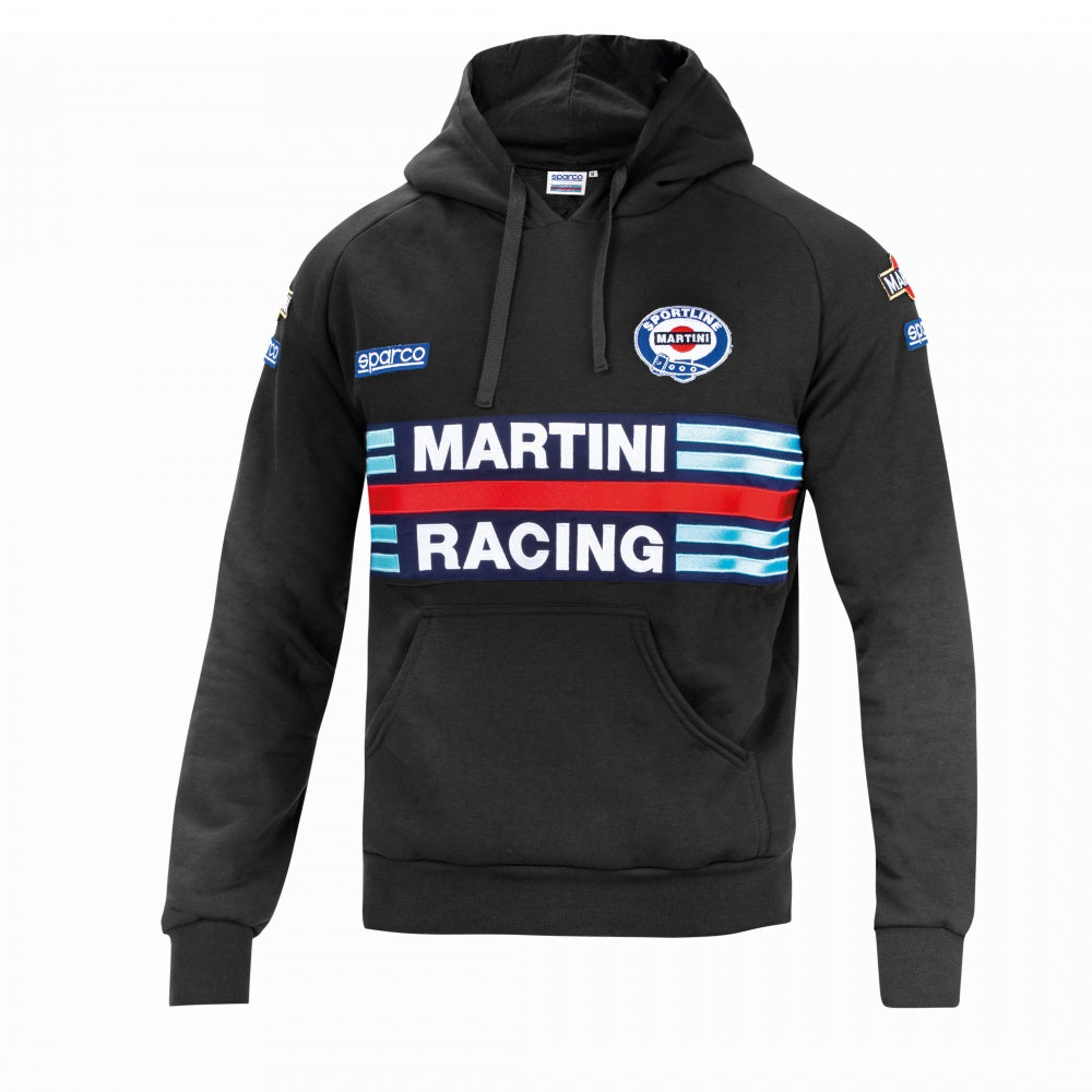 Sparco Hoodie Martini-Racing Small Black