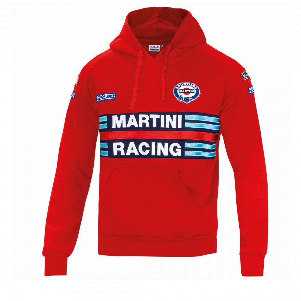 Sparco Hoodie Martini-Racing Large Red