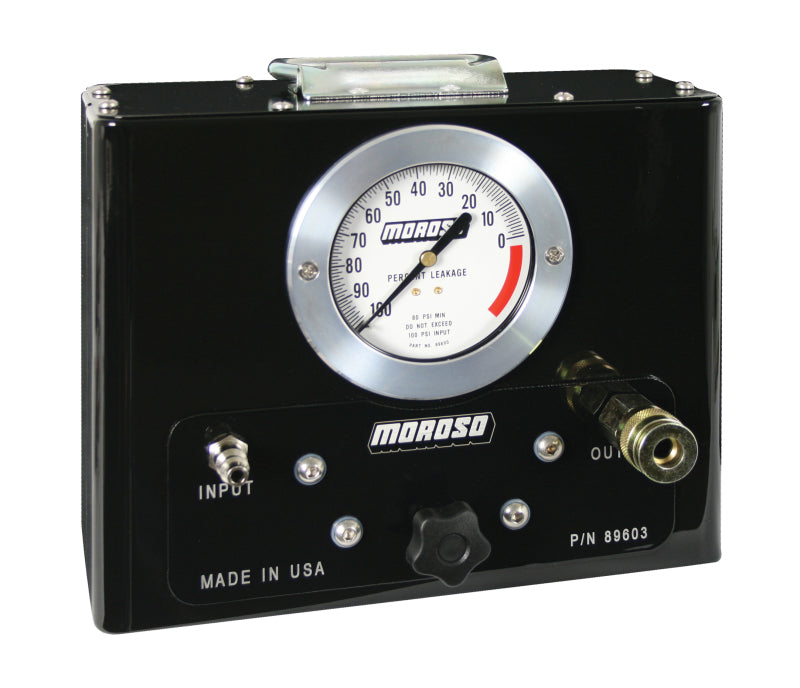 Moroso Cylinder Leakage Tester - High Accuracy