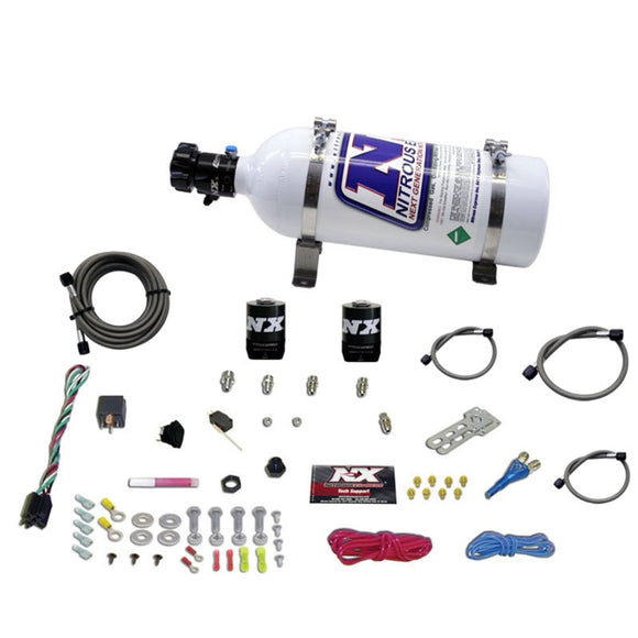Nitrous Express All Ford EFI Single Nozzle Nitrous Kit (35 -50-150HP) w/5lb Bottle
