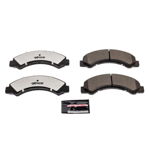 Power Stop 17-18 Chevrolet LCF 4500HD Front Z36 Truck & Tow Brake Pads w/Hardware