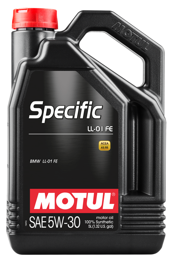 Motul 5L OEM Synthetic Engine Oil Specific LL-01 FE 5W-30