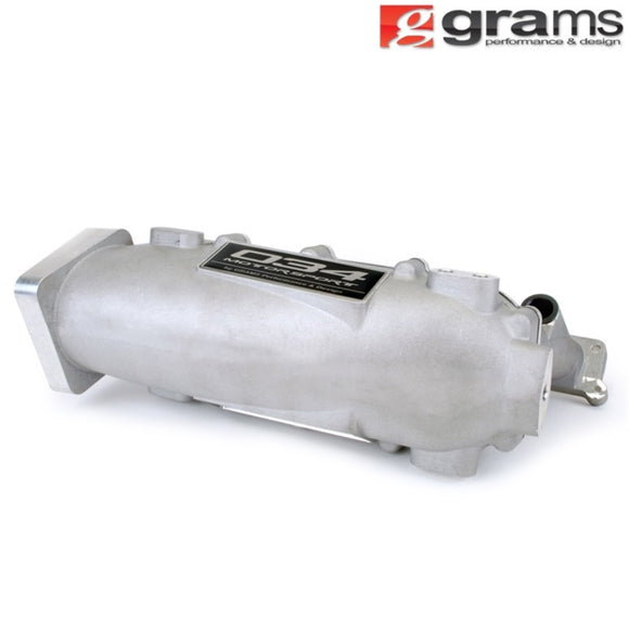 Grams Performance VW MK4 Small Port Intake Manifold - Raw Aluminum