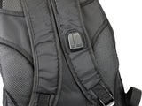 aFe Power Lightweight Tactical Backpack w/ USB Charging Port - Black