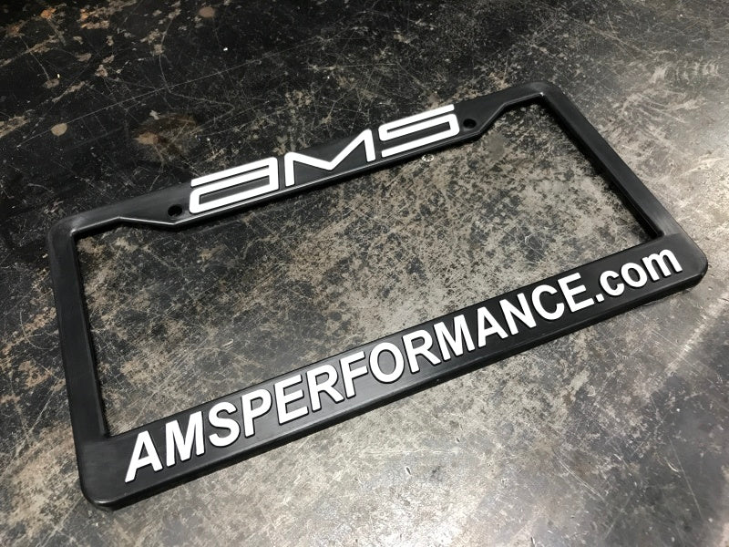 AMS Performance License Plate Frame