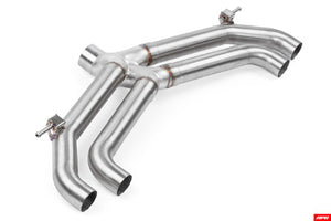 APR MK7 Catback Exhaust without Valves & Rear Mufflers - CBK0018