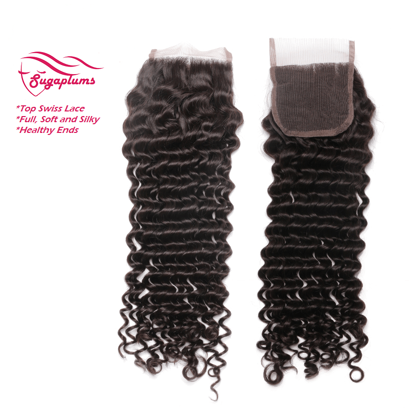 Dolled Up Deep Curly Lace Closure