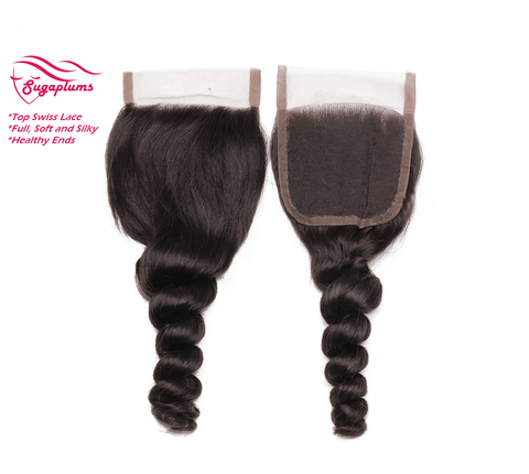 Luxurious Loose Wave Lace Closure