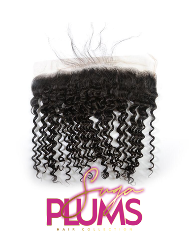 Raw Deep Wave Lace Frontal