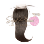 Raw Straight Lace Closure
