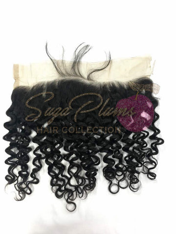 #RawGirl Curly Lace Frontal