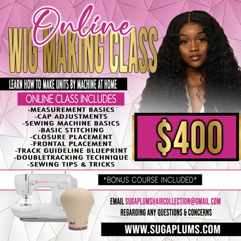 Online Wigmaking Class