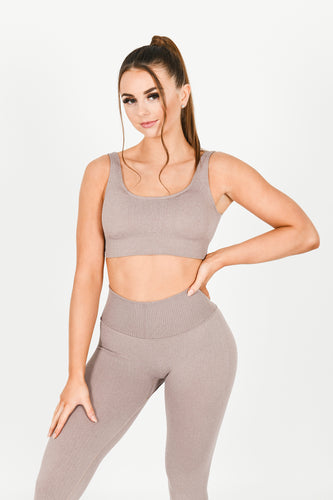 Lavish Loungewear Cropped Top
