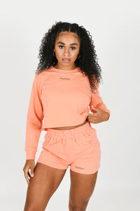 Luxe Loungewear Cropped Jumper