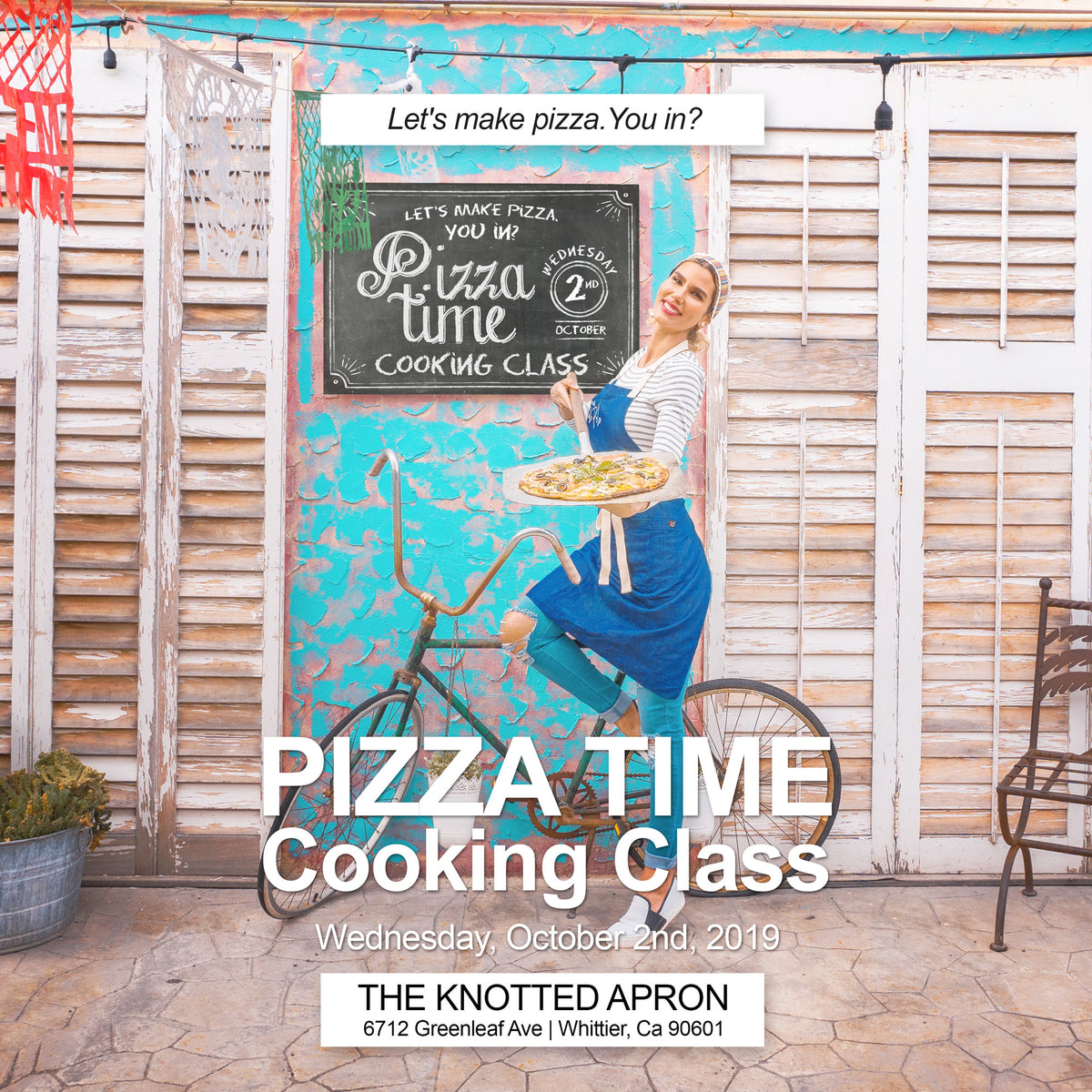 PIZZA TIME COOKING CLASS