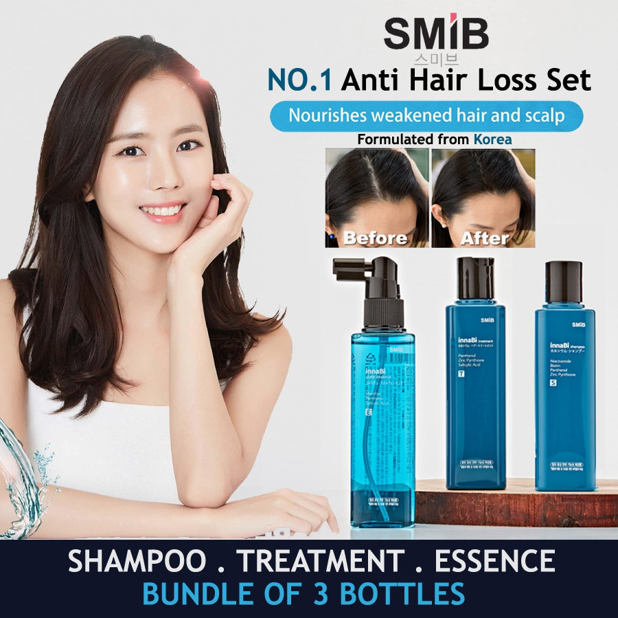 Anti Hair Loss Coral Calcium Shampoo + Treatment + Essence - Know Before you Buy