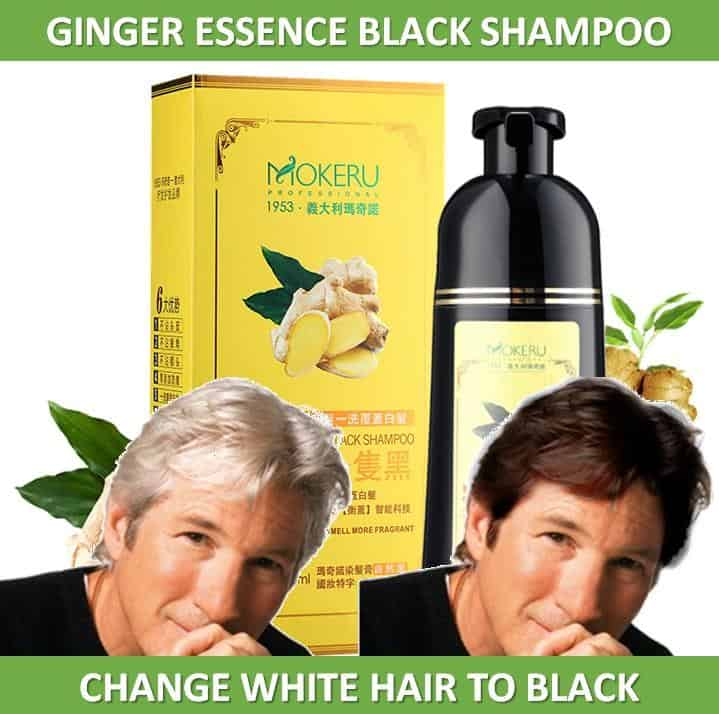 Mokeru Ginger Essence Black Shampoo Review