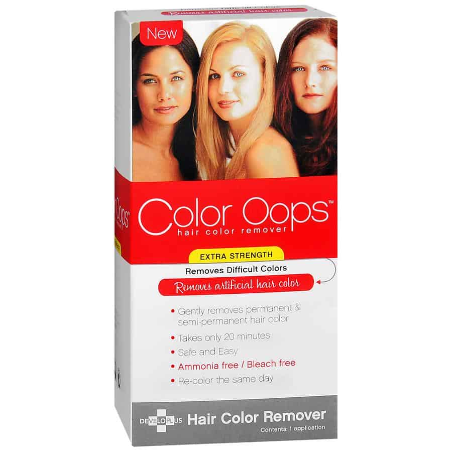 Color Oops Hair Color Removal Review
