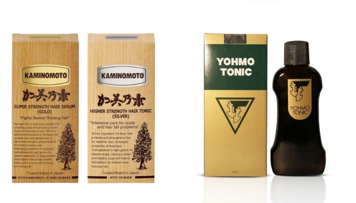 Best Japanese Hair Tonic: Kaminomoto Vs Yohmo