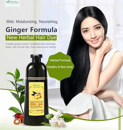 Mokeru Ginger Essence Black Shampoo
