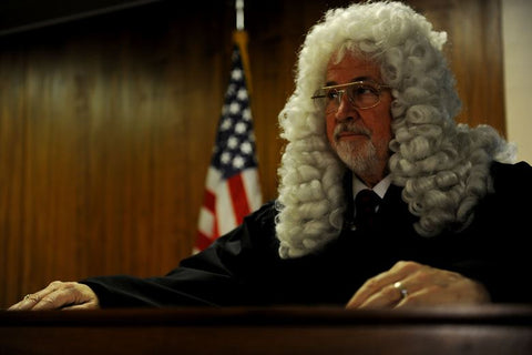 Courtroom Lawyer Wig