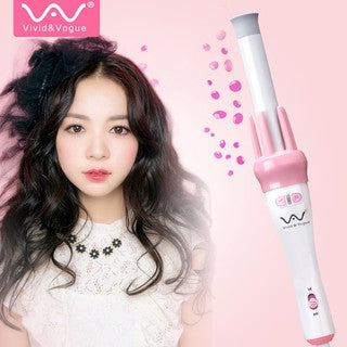 Vivid & Vogue Ceramic Curling Wand