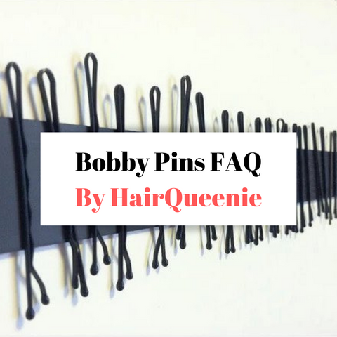 Bobby Pins FAQs by HairQueenie