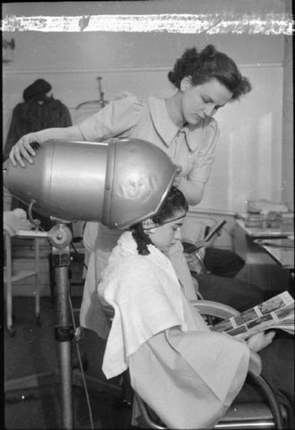 historical hair dryer